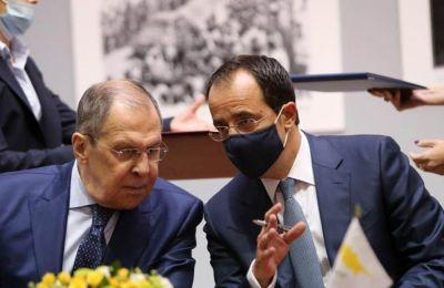 Κυπριακό και τουρκικές προκλήσεις θα συζητήσουν Χριστοδουλίδης - Λαβρόφ