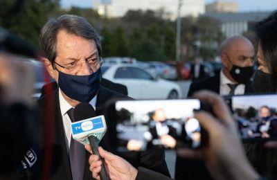 Πρόεδρος: Καμία λύση που να καθιστά την Κύπρο υποχείριο της Τουρκίας