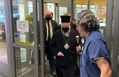 ΗΠΑ: O Οικουμενικός Πατριάρχης πήρε εξιτήριο από το νοσοκομείο
