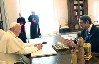 Αρχές Δεκεμβρίου η επίσκεψη του πάπα στην Κύπρο και την Ελλάδα